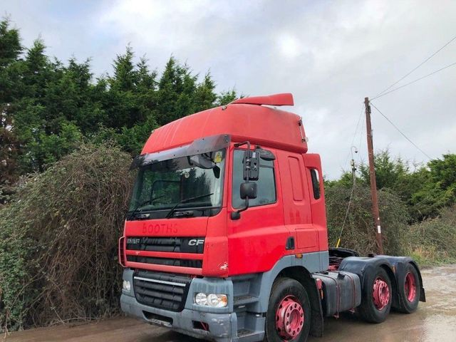 2007 (57) DAF CF85 HI ROOF SLEEPER 16 SPEED MANUAL Image