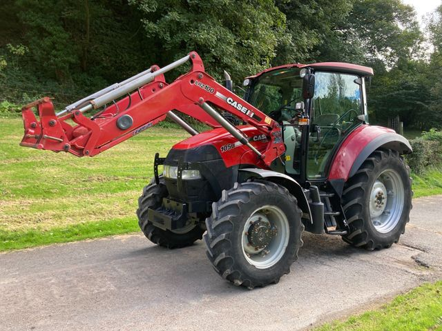 2012 Case Ih Farmall 105U Tractor c/w LRZ100 Loader Image