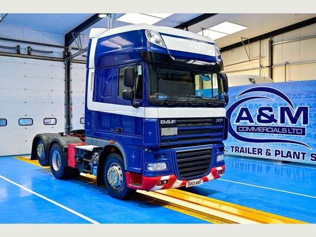 2013 (13) DAF XF105 510 SUPERSPACE CAB REAR LIFT MANUAL GEARBOX Image