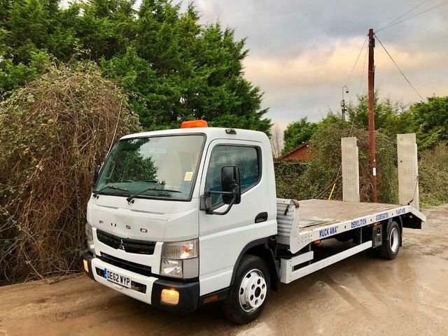 2013 (62) FUSO CANTER 7C18 PLANT BEAVERTAIL RECOVERY Image