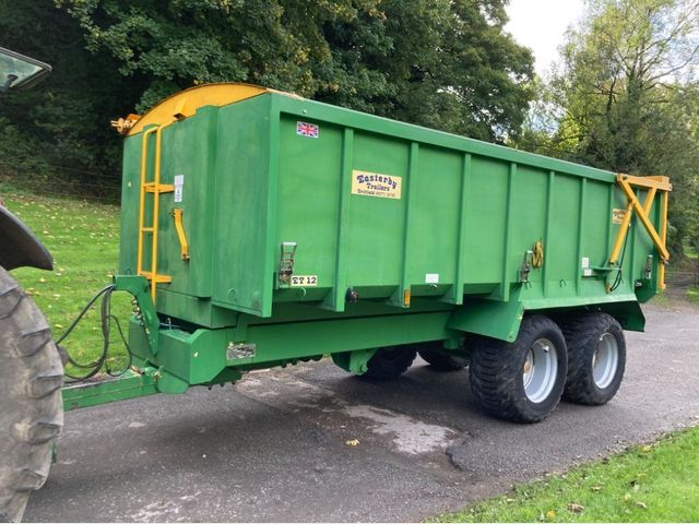 2009 Easterby 12 Ton Grain Trailer Image