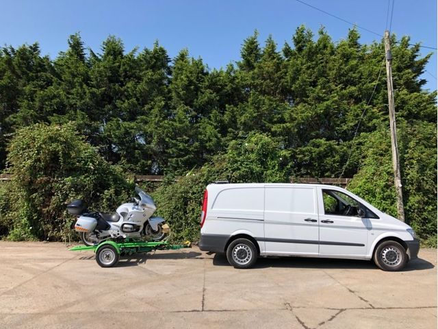 Mercedes-Benz VITO CAR BIKE RECOVERY TOWING DOLLY / BREAKDOWN Image