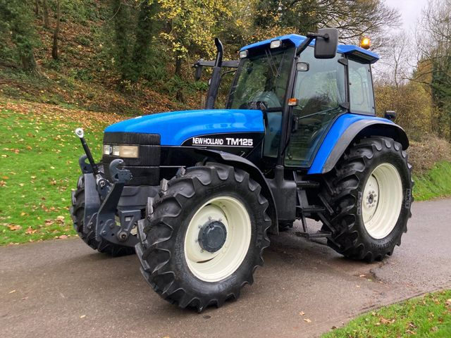 2001 New Holland TM125 Tractor Image