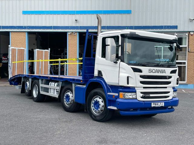 2014 (14) Scania P370 8x2 FITTED WITH NEW BEAVERTAIL BODY Image