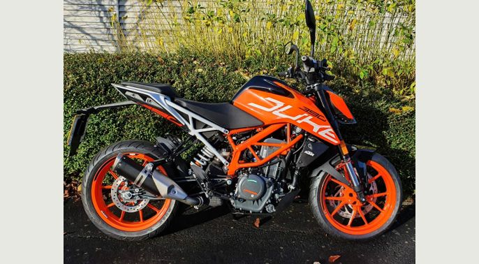 2020 70 Reg KTM 390 Duke ABS New Bike - Pre Registered