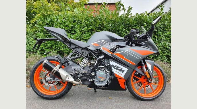 2020 KTM 125 RC 125 New 2020 RC125 - In Stock