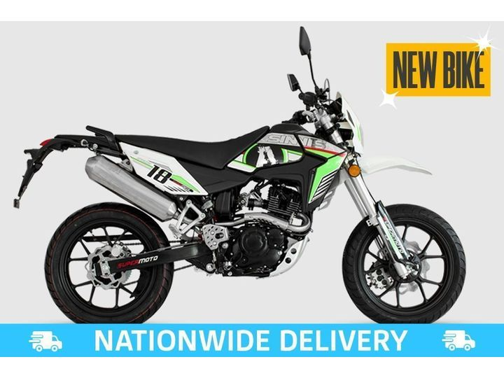 Sinnis Apache 125 SM EFI ALL TYPES OF CREDIT ACCEPTED 125cc image
