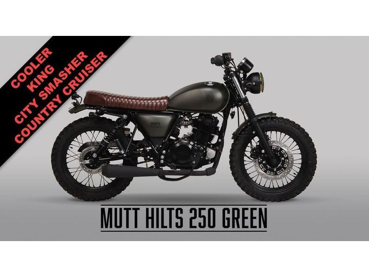 Mutt HILTS ***NEW 250 MODEL IN GREEN*** 0 litre image