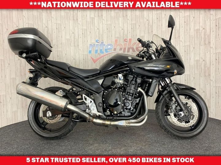 Suzuki Bandit 650 GSF S ABS MODEL VERY CLEAN TIDY LONG MOT 2010 59 … image