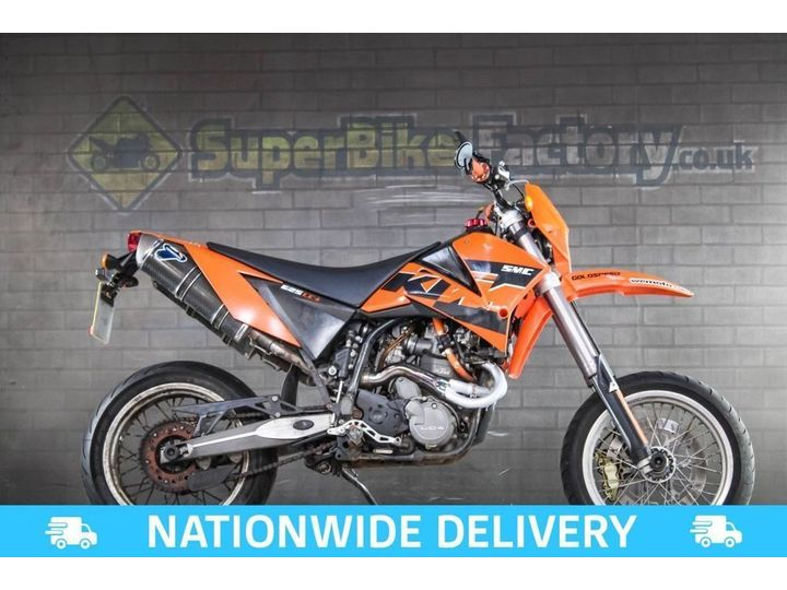 KTM SUPERMOTO 625 ALL TYPES OF CREDIT ACCEPTED 625cc image