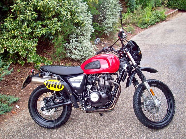 Swm Motorcycles Six Days 440 440cc image