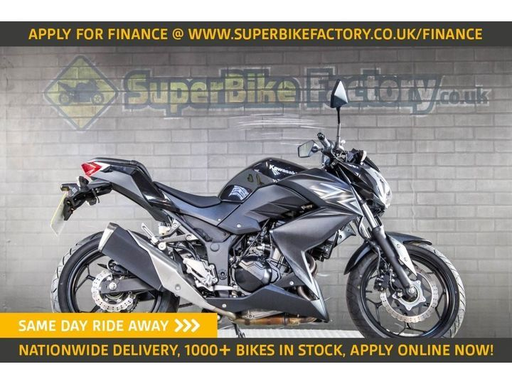 Kawasaki Z300 ABS ALL TYPES OF CREDIT ACCEPTED. 296cc image
