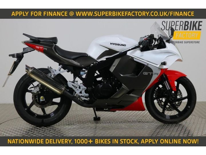 Hyosung GT125 ALL TYPES OF CREDIT ACCEPTED. 124cc image