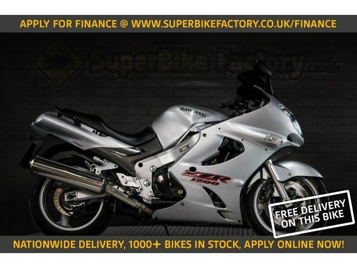 Kawasaki ZZR1200 ALL TYPES OF CREDIT ACCEPTED. 1164cc image