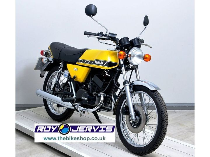 Yamaha RD125DX Classic 2T TWO UK OWNERS - ONLY SHOWING 406 MILES … image