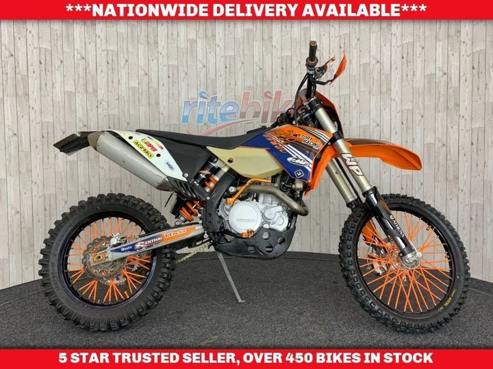 KTM 530 EXC-R ENDURO BIKE LOW MILEAGE EXAMPLE 2008 58 510cc image