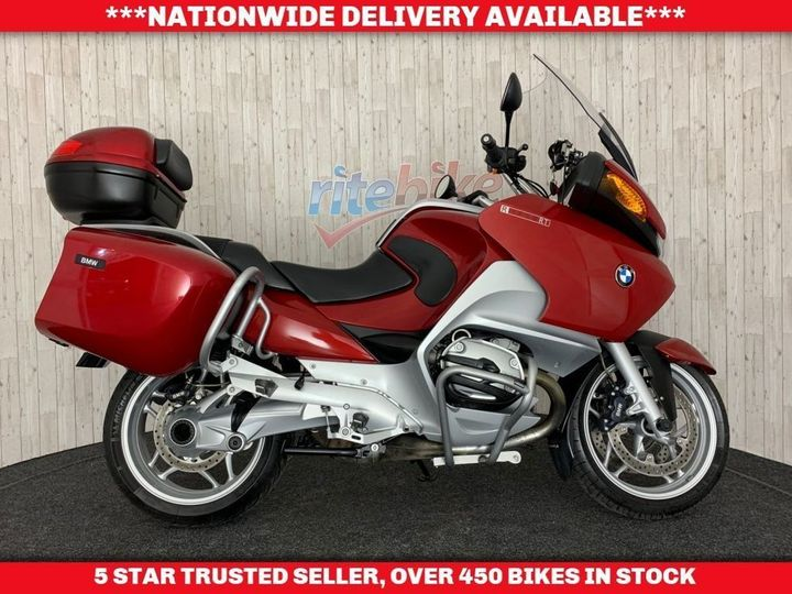 BMW R1200RT R ABS MODEL FULL CRASH BARS VERY CLEAN 2005 05 1170cc image