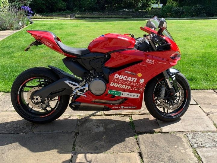 Ducati 959 Panigale TRI OPTIONS PACK AKROPOVIC EXHAUST CUSTOM … image