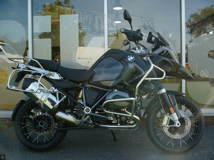 BMW R1200 GS ADVENTURE TRIPLE BLACK image