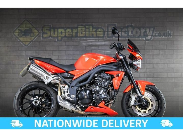 Triumph SPEED TRIPLE 1050 ALL TYPES OF CREDIT ACCEPTED 1050cc image