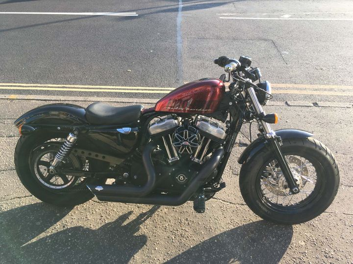 Harley-Davidson Sportster 1200 Forty Eight 1202cc image