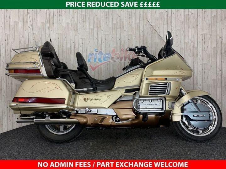 Honda GL1500 GOLDWING SE TOURER INTERSTATE ANNIVERSARY EDITION … image