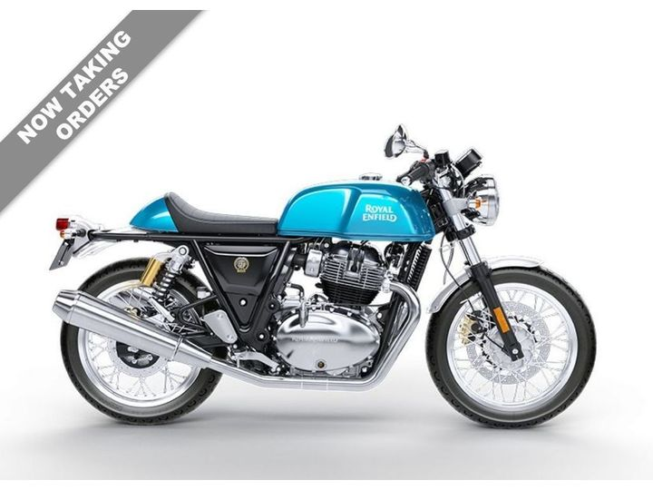 Royal Enfield CONTINENTAL GT VENTURA BLUE & BLACK MAGIC ***NOW OUR … image