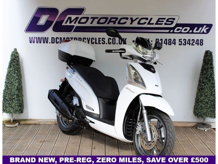 Kymco PEOPLE GT 125i Brand New, Pre-Registered, Top Box 0 litre image