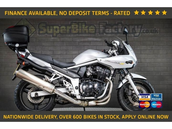 Suzuki Bandit 650 ALL TYPES OF CREDIT ACCEPTED 656cc image
