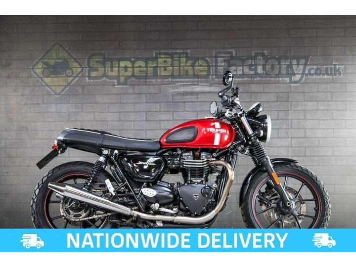 Triumph STREET TWIN ABS ALL TYPES OF CREDIT ACCEPTED 900cc image