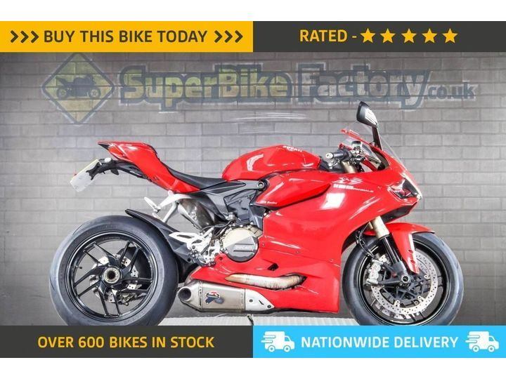 Ducati 1199 PANIGALE ABS - ALL TYPES OF CREDIT ACCEPTED 1198cc image