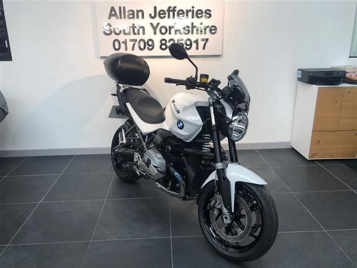 BMW R 1200 R Dark White 1170cc image