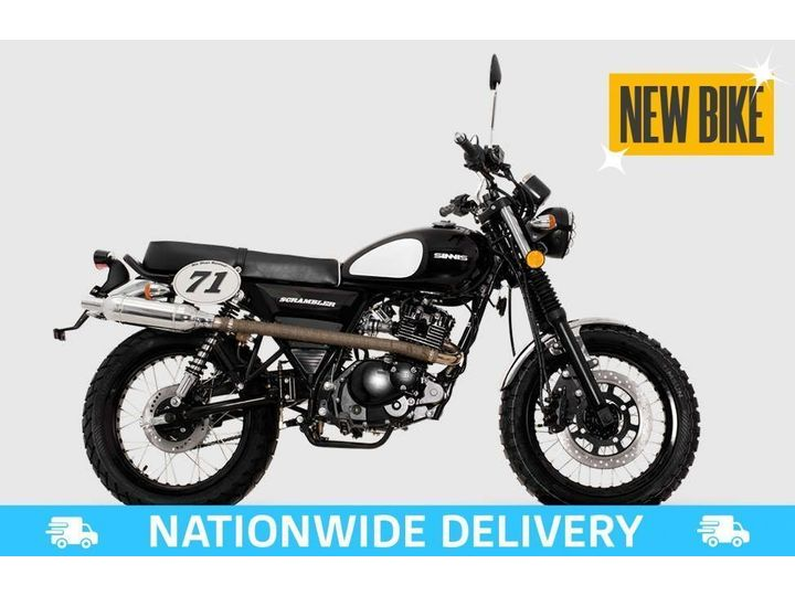 Sinnis SCRAMBLER 125 EFI ALL TYPES OF CREDIT ACCEPTED 125cc image