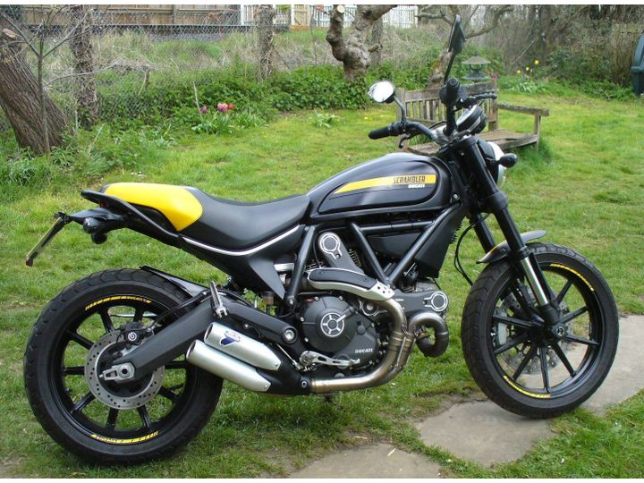 Ducati Scrambler Full Throttle 803cc image