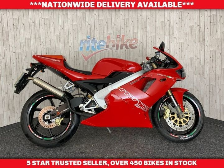 Cagiva MITO 125 SP525 SPORTS RARE BIKE 2 STROKE LOW MILES 2010 10 … image
