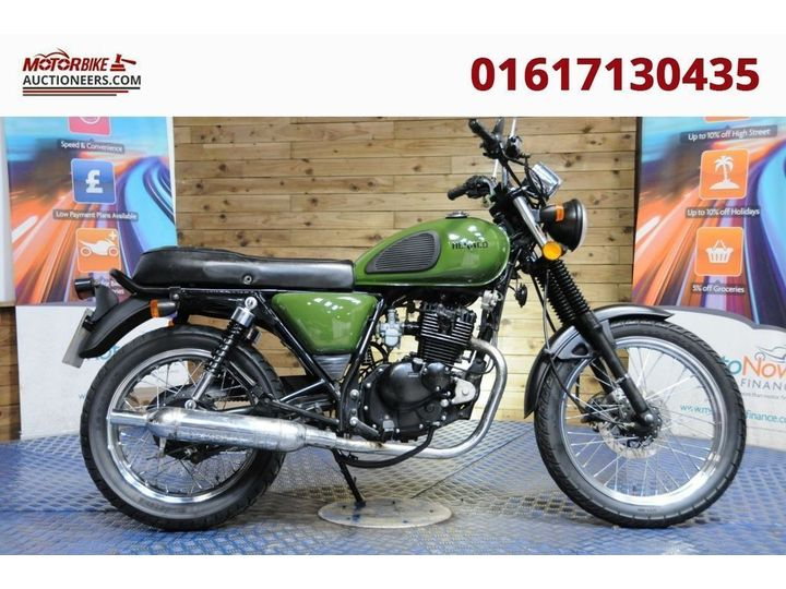 Herald Motor Co CLASSIC 125 XF 125 GY-2D 125cc image