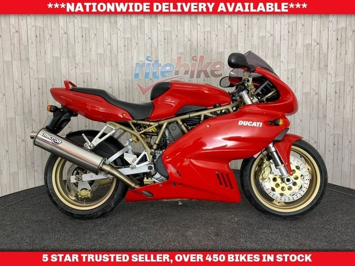 Ducati 750 SS SUPER SPORT VERY CLEAN MOT TILL JUNE 2020 2001 748cc image