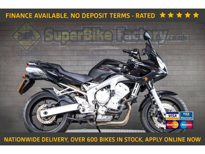 Yamaha FZ6 ALL TYPES OF CREDIT ACCEPTED 599cc image