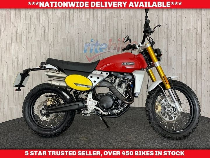 Fantic CABALLERO CA25 250 SCRAMBLER 1 OWNER 432 MILES COVERED 2018 … image