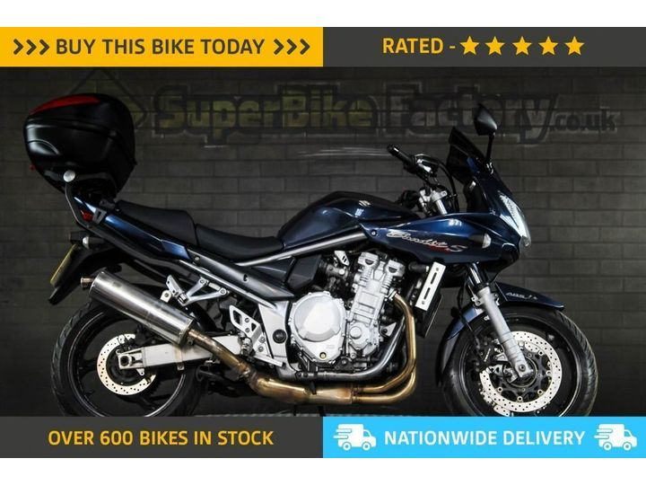 Suzuki Bandit 1250 - ALL TYPES OF CREDIT ACCEPTED. 1255cc image