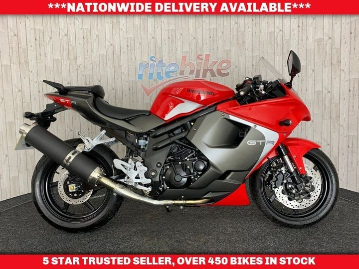 Hyosung GT650 RC 1 PREVIOUS OWNER ONLY 41 MILES COVERED 2018 … image