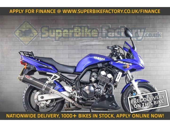 Yamaha FZS600 ALL TYPES OF CREDIT ACCEPTED. 599cc image