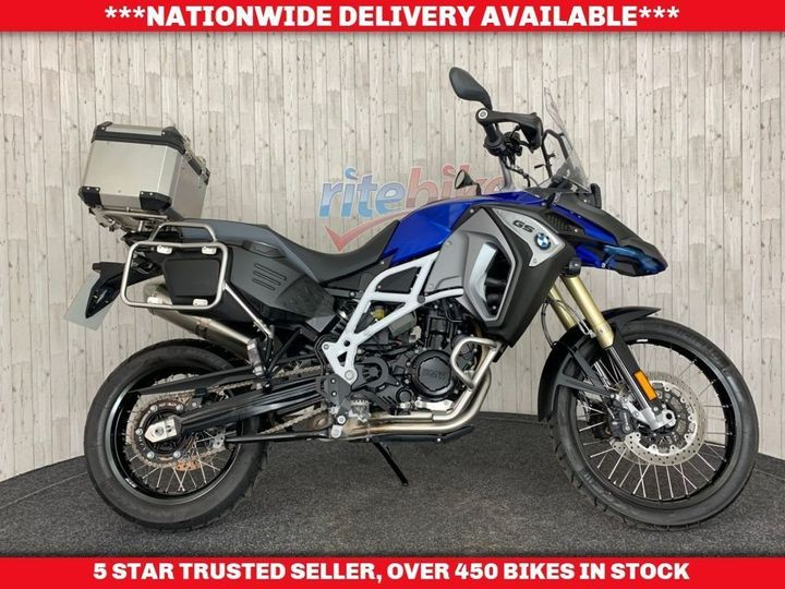 BMW F800GS F ADVENTURE ABS 1 PREVIOUS OWNER LOW MILEAGE 2018 18 … image