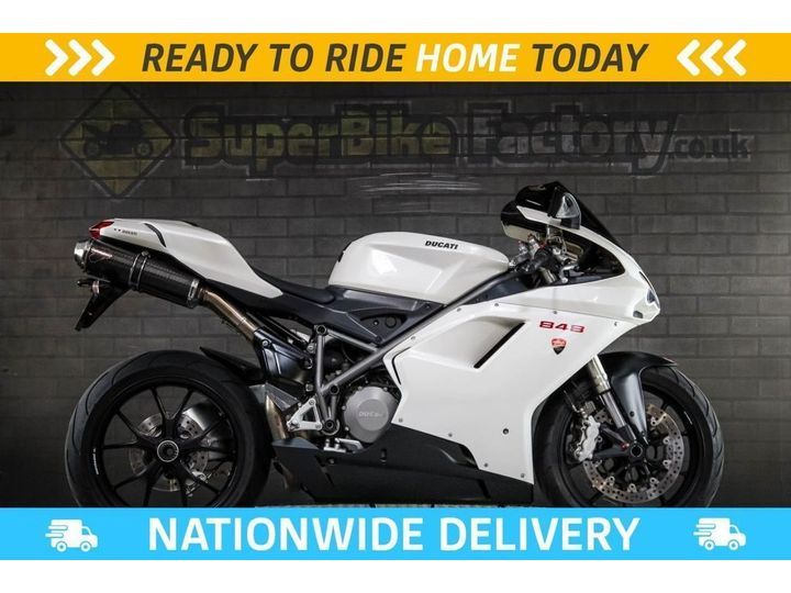 Ducati 848 849 - ALL TYPES OF CREDIT ACCEPTED 849cc image