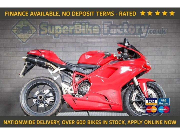 Ducati 1098 ALL TYPES OF CREDIT ACCEPTED 1099cc image