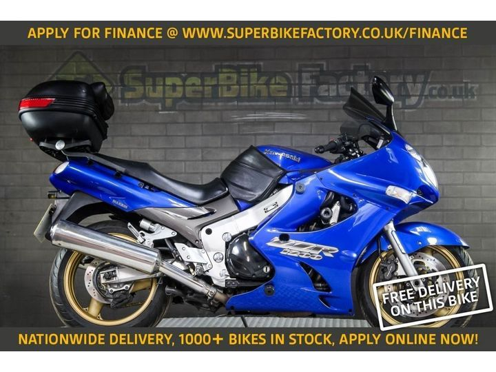 Kawasaki ZZR1200 ALL TYPES OF CREDIT ACCEPTED 1164cc image
