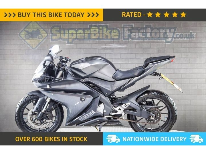 Yamaha YZF-R125 ABS ALL TYPES OF CREDIT ACCEPTED 124cc image