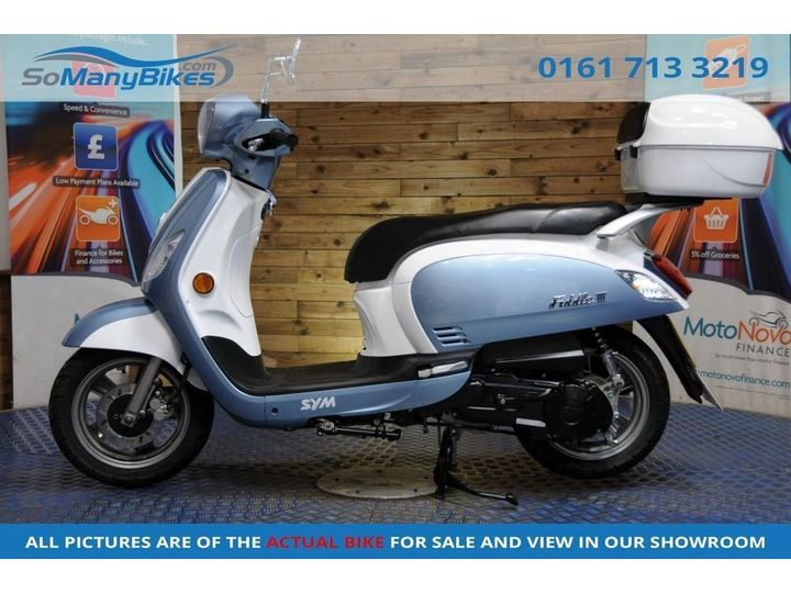 SYM Fiddle III 125 - Low miles Nice example 125cc image