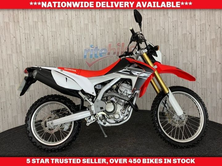 Honda CRF250L L-F VERY LOW MILEAGE 1 PREVIOUS OWNER 2016 16 250cc image