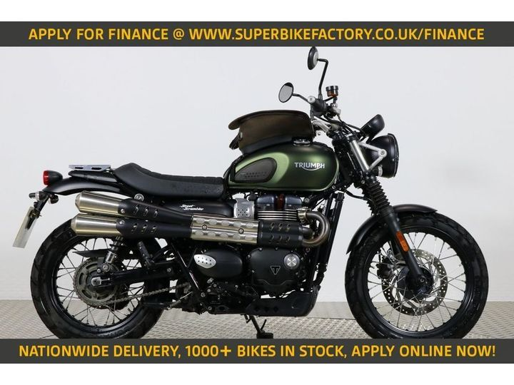 Triumph STREET SCRAMBLER ALL TYPES OF CREDIT ACCEPTED. 900cc image